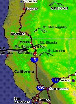 California S Mt Shasta Mountain Cabins And Wilderness Resort